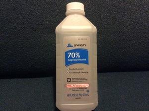 Alcohol Isopropyl 70% Swan 16 oz